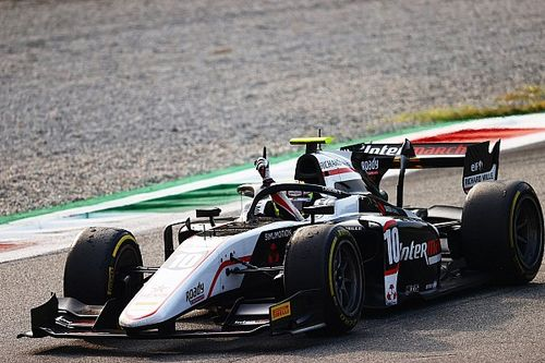 Monza F2: Pourchaire takes second series win in dramatic sprint race