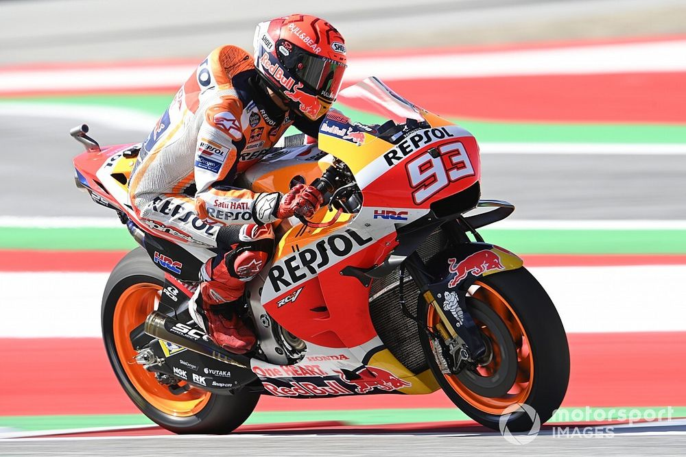 Marquez admits arm condition worse than expected at Styria MotoGP