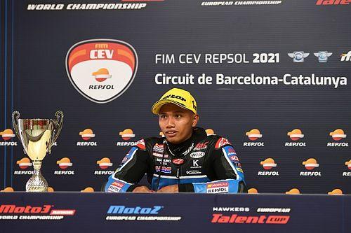 Perdana di Moto3 Aragon, Syarifuddin Azman Siap Berikan 200 Persen