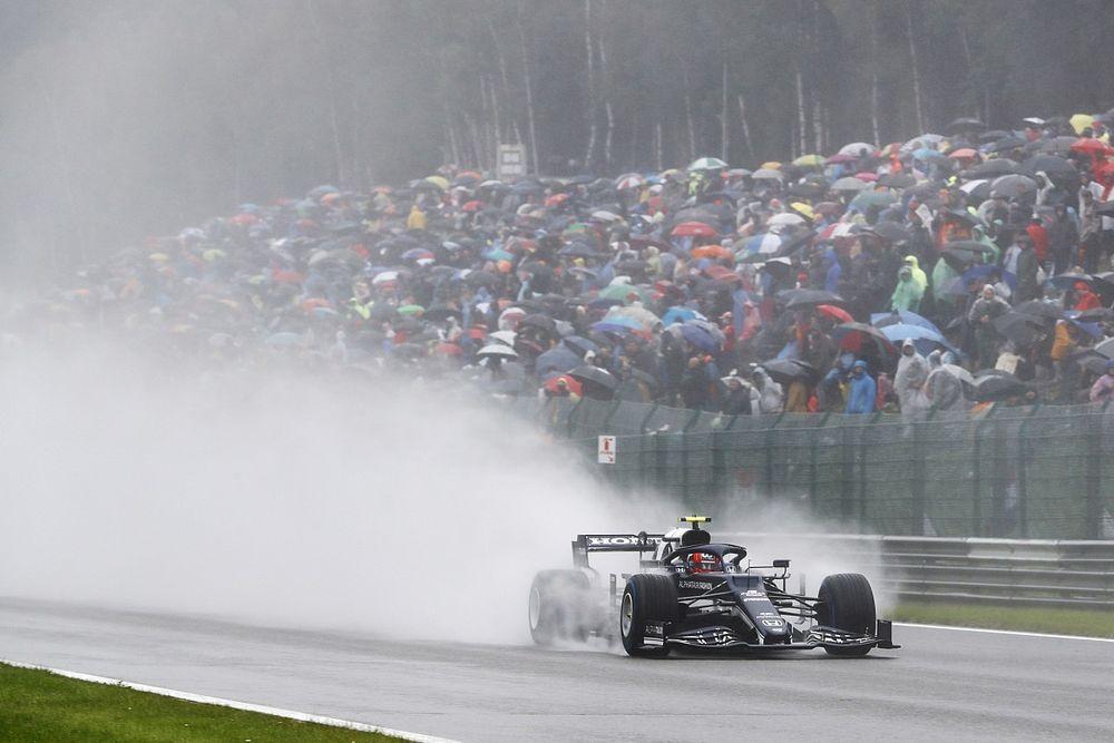 """Gasly: """"La F1 dovrebbe affrontare il problema dello spray"""""""