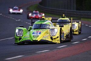 Bandenproblemen in niemandsland voor Van der Zande op Le Mans