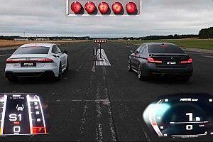 Videó: Kipróbálta magát gyorsulási versenyen a BMW M5 CS az Audi RS7 ellen