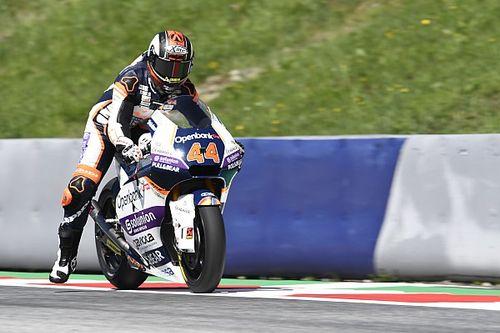Moto2 - Estiria: Canet se estrena en la pole con Martín, 2º
