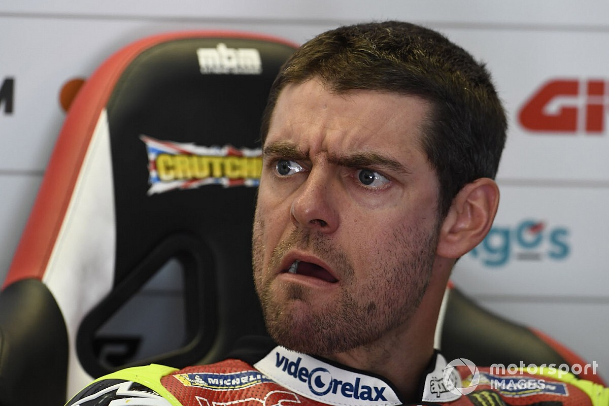 "Crutchlow ""going in circles"" with 2020 Honda MotoGP bike"