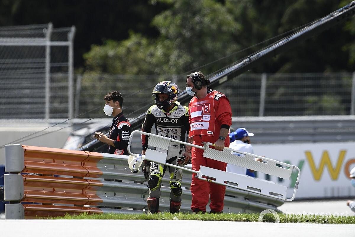 Morbidelli: Zarco 'gaf niets om ons' tijdens crash