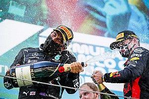 """Horner afirma que """"pouca coisa"""" separa Hamilton de Verstappen: """"São os dois melhores pilotos da F1"""""""