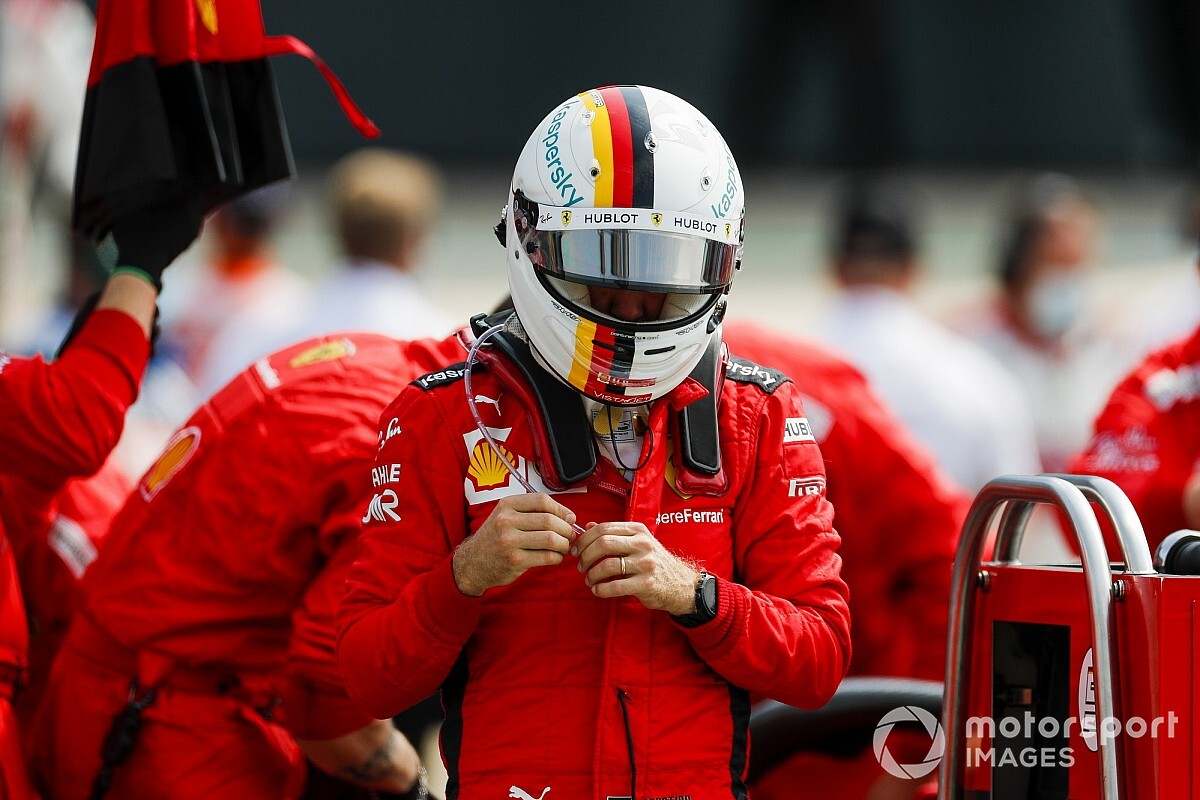 """Binotto responde a Vettel: """"Su trompo le perjudicó más que la estrategia"""""""