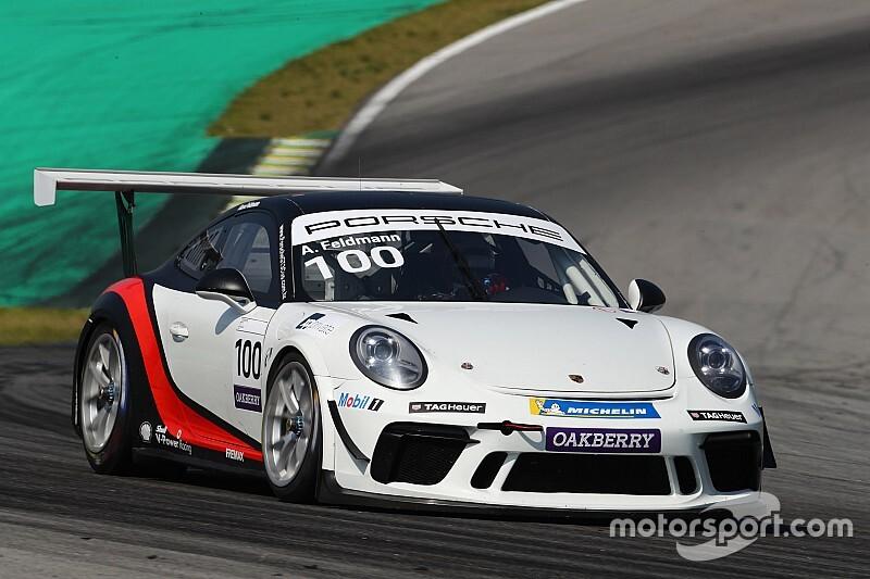 Porsche Carrera Cup: Feldmann faz grande largada e ganha Corrida 2 em Interlagos