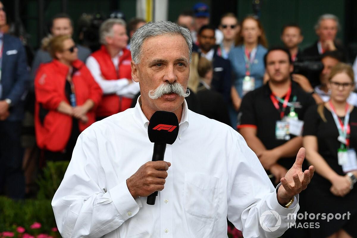 F1-bazen Carey en Brawn praten coureurs bij over hervatting seizoen