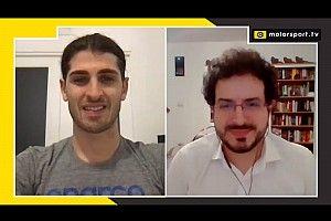 """Giovinazzi: """"488 virtuale simile a quella vera nei cambi di set up"""""""