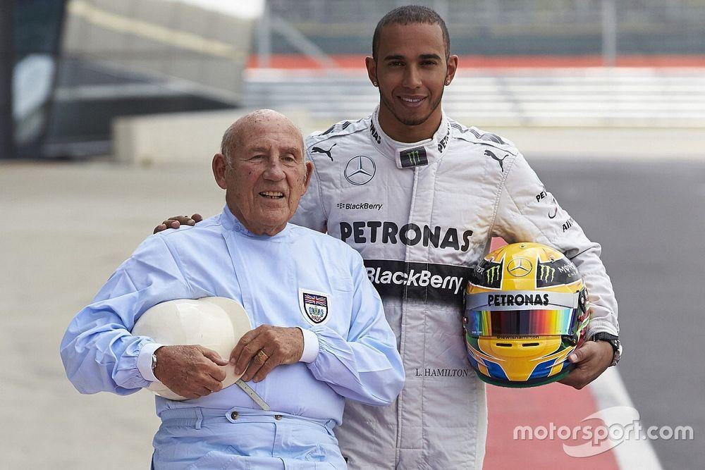 Hamilton, Leclerc e cia: esporte a motor homenageia Stirling Moss