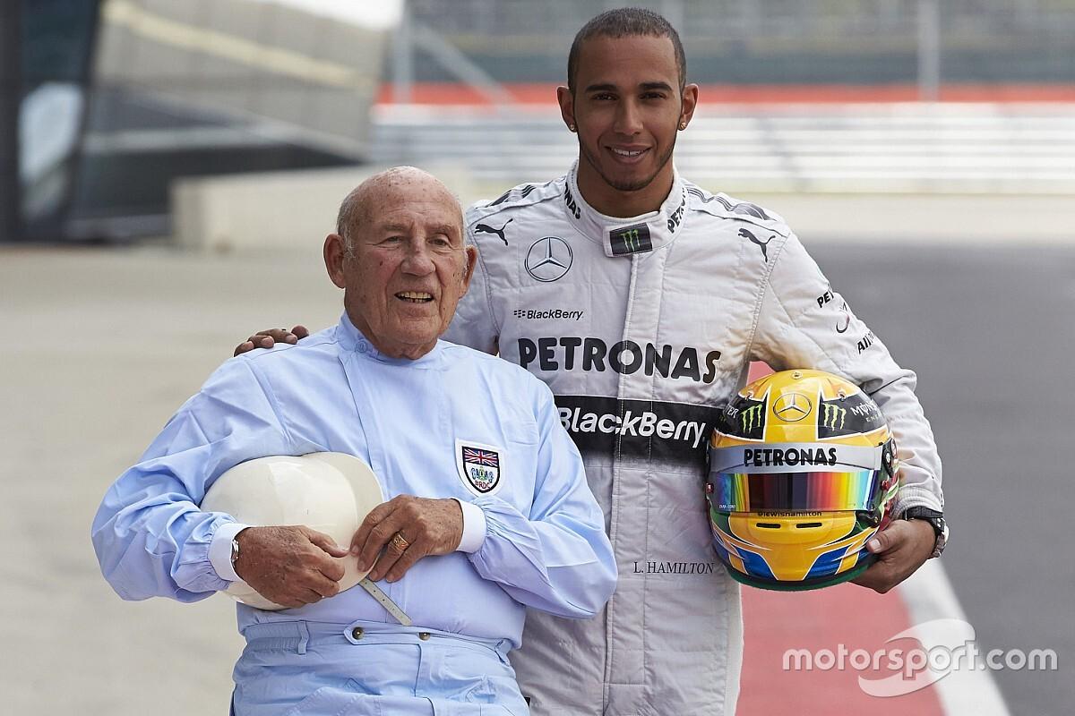 Hamilton, Leclerc y el deporte motor despiden a Stirling Moss