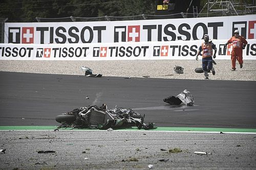 MotoGP faz modificações na Curva 3 do Red Bull Ring após acidente entre Morbidelli e Zarco no GP da Áustria