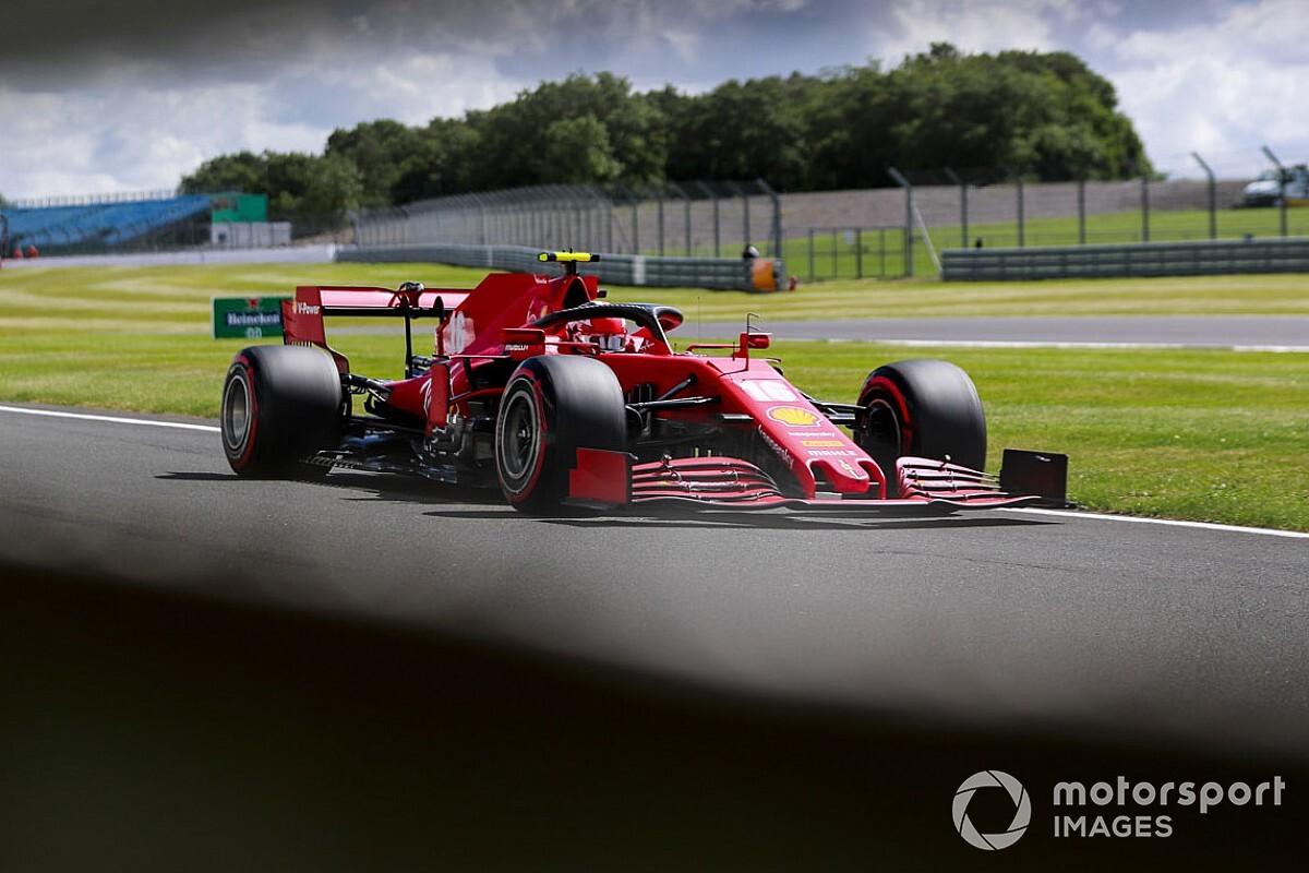 Te jó ég, mit fogott Leclerc a Ferrarival Silverstone-ban... (videó)