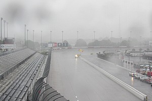 Rain threatens to halt NASCAR's return to action