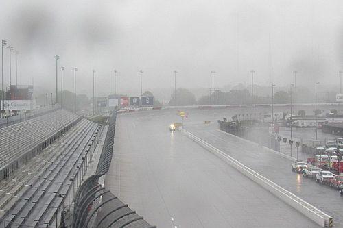 Rain threatens to halt NASCAR's return to action