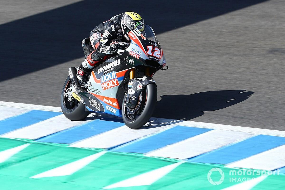 """Lüthi """"Très déçu"""" après sa chute à Jerez"""