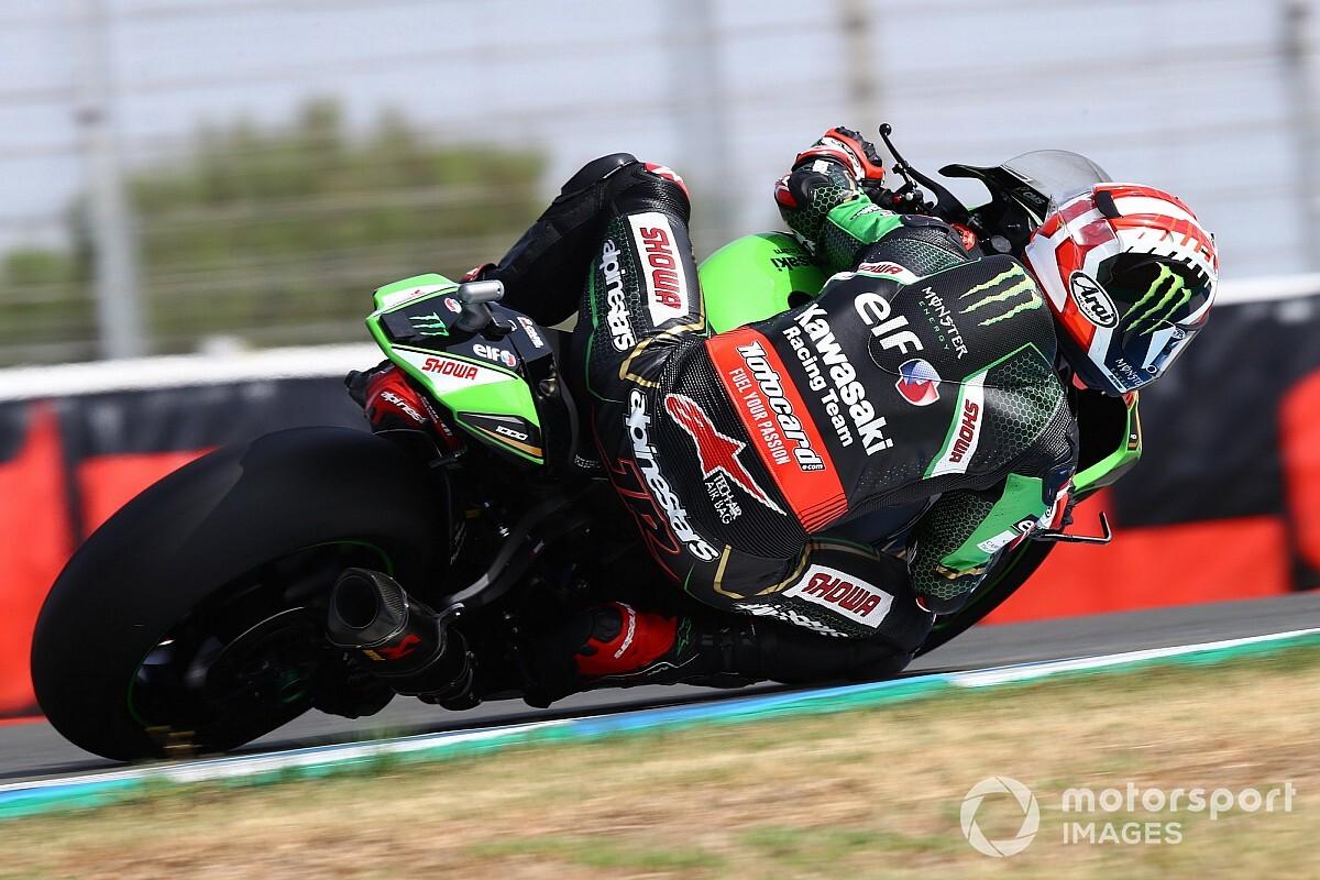 Podium voor Van der Mark in Superpole-race WSBK op Jerez, Rea wint