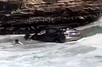 A Csendes-óceánban kötött ki a férfi, miután a rendőrség elől próbált menekülni