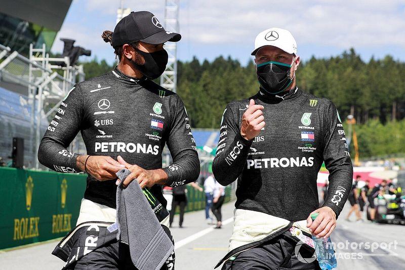 هاميلتون يتفادى العقوبة ويُحافظ على مركزه الثاني على شبكة انطلاق سباق النمسا