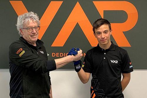 Francesco Pizzi con Van Amersfoort in Formula 4