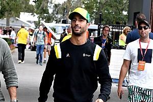 Ricciardo: Besef van uitgestelde seizoensstart begint te komen