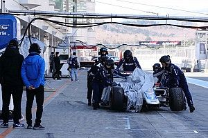 Kobayashi explains Fuji Super Formula test crash