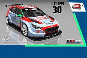 TCR Europe SIM Racing: al Red Bull Ring c'è anche Luca Filippi