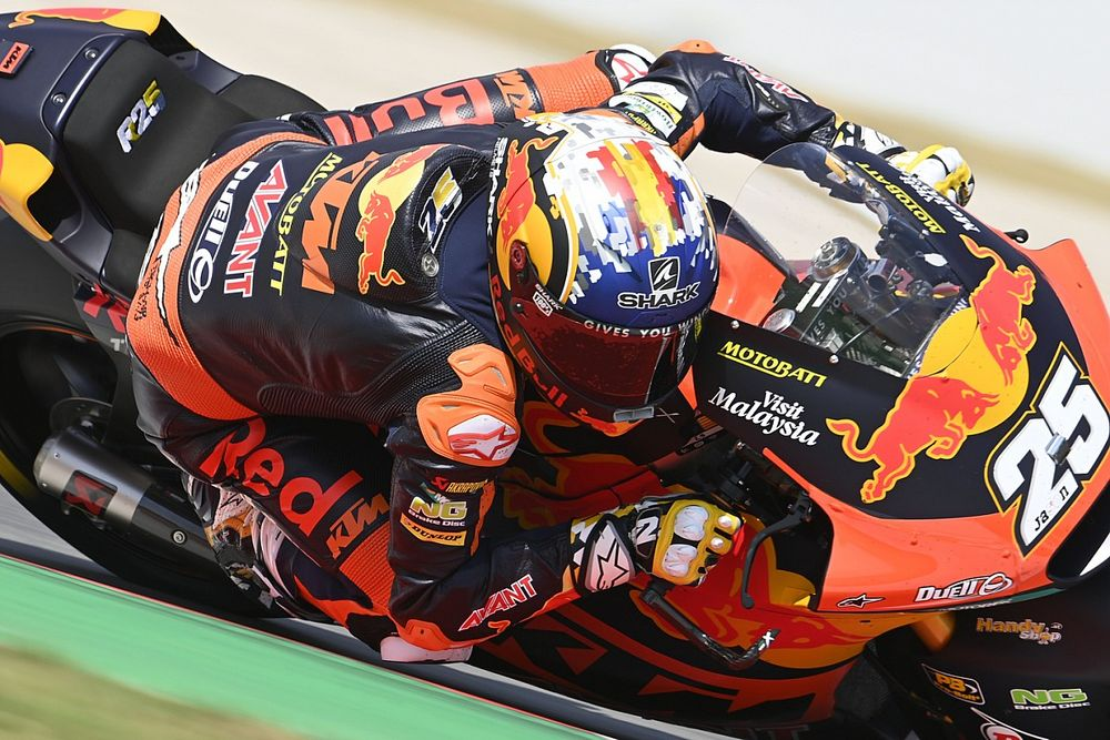 KTM: Fernandez wil graag nog een jaar in Moto2 blijven