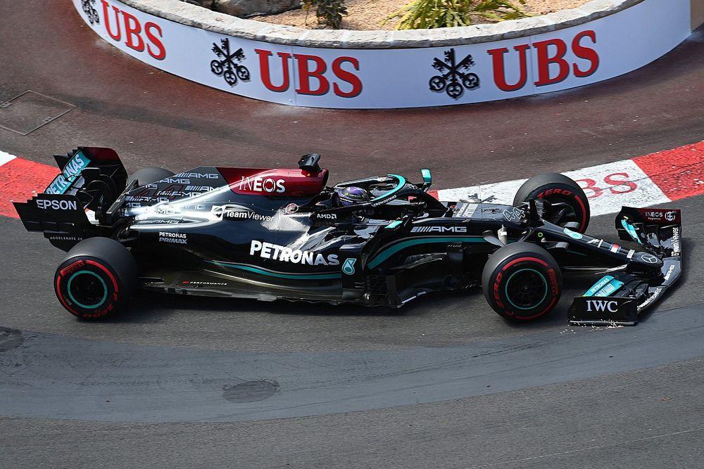 """F1 - Hamilton critica aumento do peso dos carros para 2022: """"Não é a direção correta"""""""