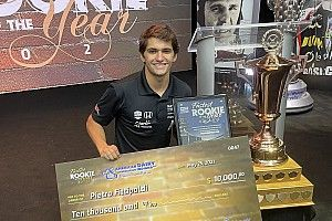 Fittipaldi receives fastest Indy 500 rookie qualifier award