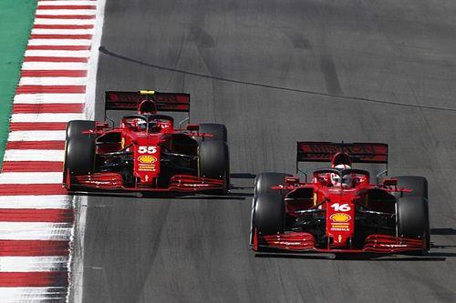 Por qué el Ferrari SF21 es un coche que no rindió en Portugal