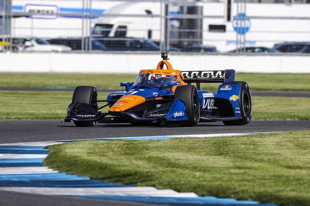 Rosenqvist cleared for Mid-Ohio IndyCar, VeeKay expected to return