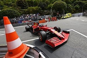 Skrzynia biegów Leclerca bez poważniejszych uszkodzeń