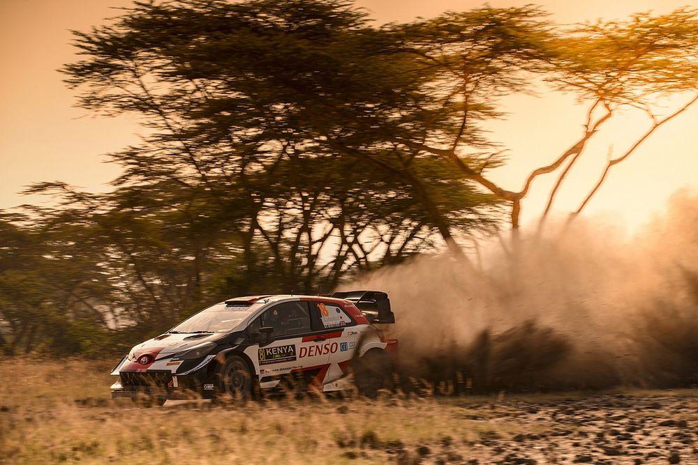 Hasil SS15 Reli Safari Kenya: Debut Katsuta Pimpin Klasemen