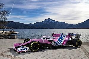 Foto's: De nieuwe Racing Point RP20-livery in beeld