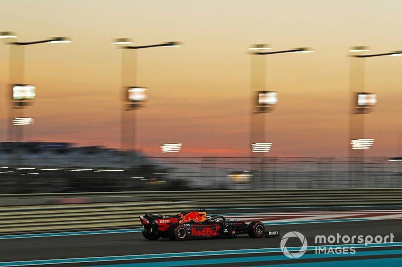 F1アブダビFP3:レッドブルのフェルスタッペン最速。3強入り交じる結果で予選へ