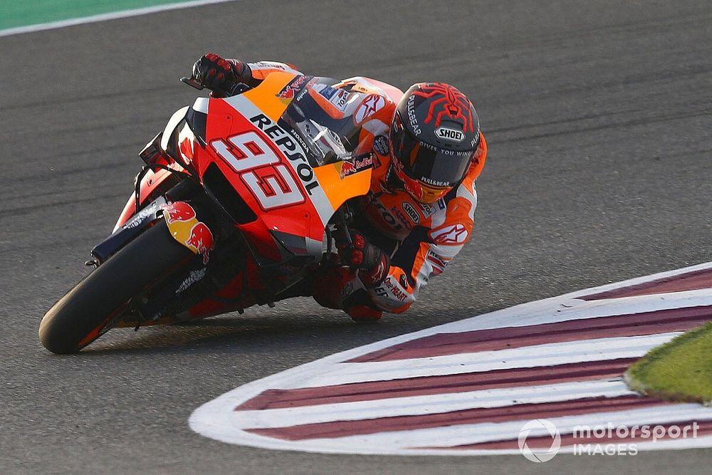 Omuz sakatlığı Marquez'i Katar'da daha fazla zorluyor