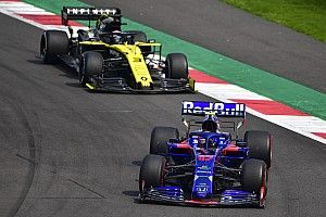 Ricciardo ravi que Renault soit sous la menace de Toro Rosso