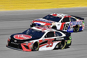 Busch, Hamlin and Bell penalized at Las Vegas