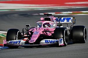 """Pérez: Le pari de la Mercedes rose """"vaut la peine d'être pris"""""""