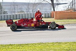 Ferrari not as fast as Mercedes, Red Bull - Binotto