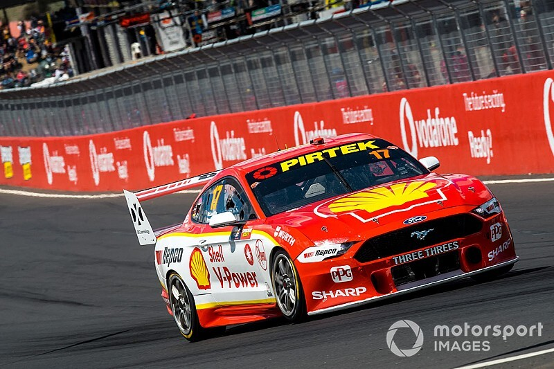 McLaughlin stripped of Bathurst pole for engine breach
