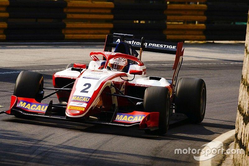Armstrong encabeza la primera práctica en Macao