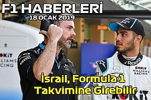 Video: İsrail, F1 Takvimine girebilir - 18 Ocak Cumartesi F1 ve Motor Sporları Haberleri