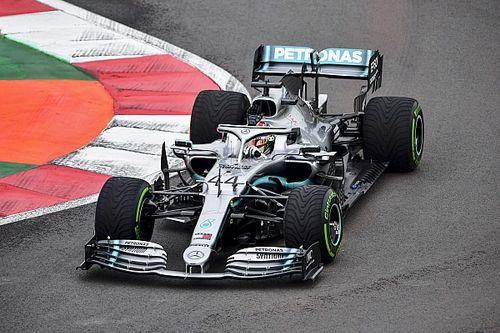 Hamilton volt a leggyorsabb az FP1-en Mexikóban, de Leclerc közepesen volt