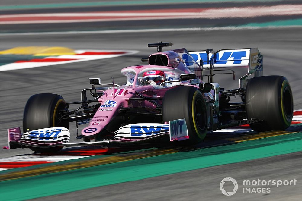 """Perez: """"Racing Point, Aston Martin haline gelince bir adım daha atmak zorunda kalacak"""""""