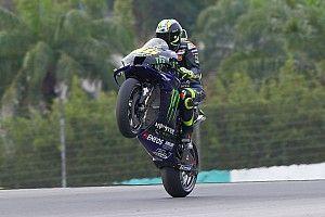 Sok látványos kép a MotoGP szepangi tesztjének második napjáról