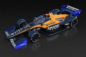 McLaren представила расцветку своей команды в Indycar
