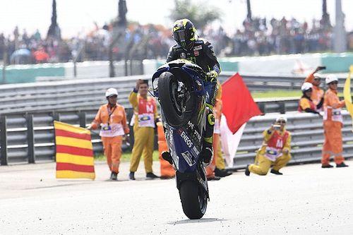 Rossi rompe una racha de tres años y otras estadísticas del GP de Malasia